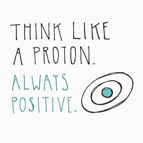 Think like a proton!